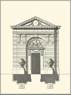 Parisian Facade III by Jean Deneufforge