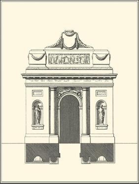 Parisian Facade IV by Jean Deneufforge