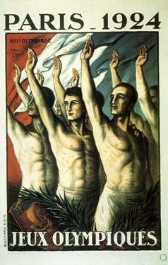 Jeux Olympiques, Paris, 1924 by Jean Droit