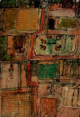 Campagne Heureuse, 1944 by Jean Dubuffet