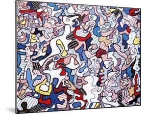 Family Life, August 10, c.1963 by Jean Dubuffet