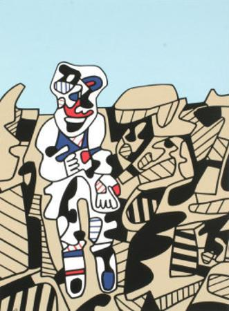 Inspection of the Territory by Jean Dubuffet