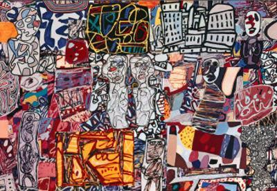 Theatre de Memoire, 1977 by Jean Dubuffet