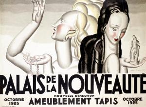 Palais de la Nouveaute, 1925 by Jean Dupas