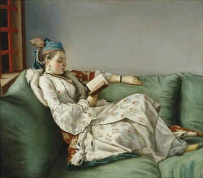 Portrait of Marie Adelaide of France by Jean-Etienne Liotard