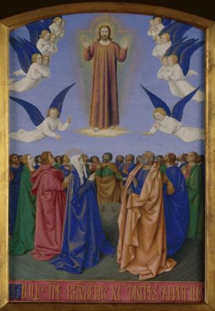 Ascension of Christ by Jean Fouquet