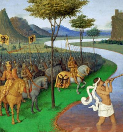 Caesar Crossing the Rubicon by Jean Fouquet