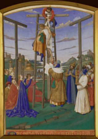 Deposition From the Cross by Jean Fouquet
