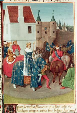 Entry into Paris of King Jean II by Jean Fouquet