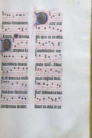 Page from the Missal De Paris, C.1475