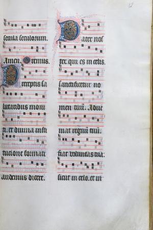 Page from the Missal De Paris, C.1475 by Jean Fouquet