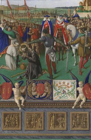 Saint James the Great by Jean Fouquet
