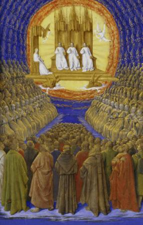 The Holy Trinity by Jean Fouquet