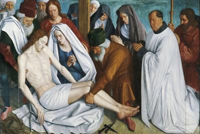 The Pieta by Jean Fouquet
