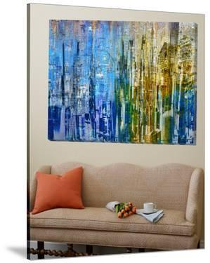 Abstract City Scene I by Jean-Fran?ois Dupuis