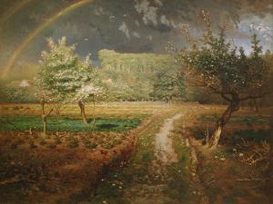 Spring at Barbizon, 1868-73 by Jean-Fran?ois Millet