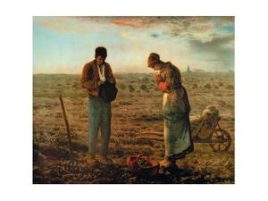 The Angelus by Jean-Fran?ois Millet