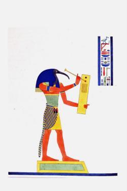 Thout Thoth Psychopomp by Jean-Fran�s Champollion