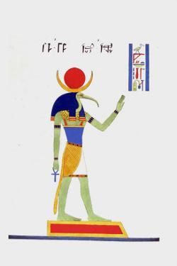 Thout Thoth Twice as Large by Jean-Fran�s Champollion