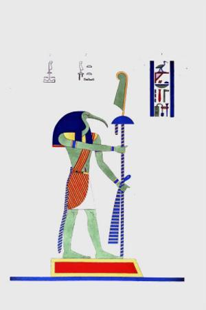 Thout Thoth Twice as Large by Jean-Fran?s Champollion