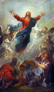 The Ascension, 1721 by Jean Francois de Troy