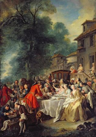 The Hunt Lunch, 1737