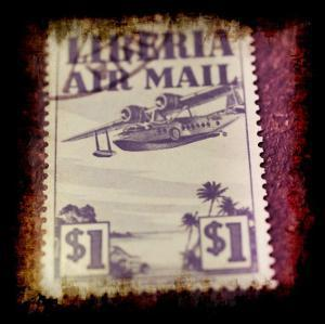 Airplane Stamp by Jean-François Dupuis