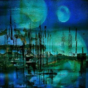 Blue and Turquoise Rust by Jean-François Dupuis
