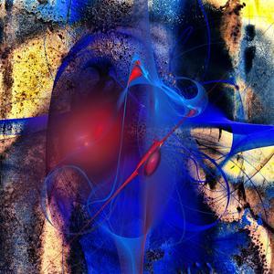 Blue Flames by Jean-François Dupuis