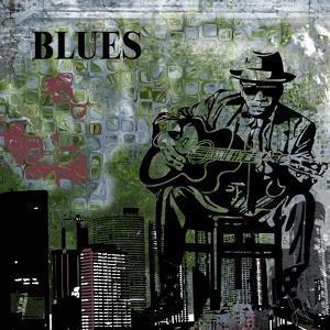 Blues II by Jean-François Dupuis