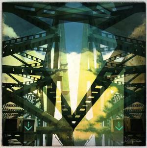 Bridge structure V by Jean-François Dupuis