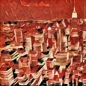 Distorted city scene 1 by Jean-François Dupuis