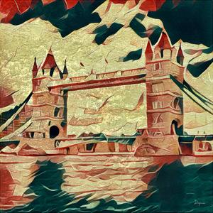 Distorted city scene 25 by Jean-François Dupuis
