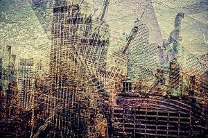 Distorted city scene 3 by Jean-François Dupuis