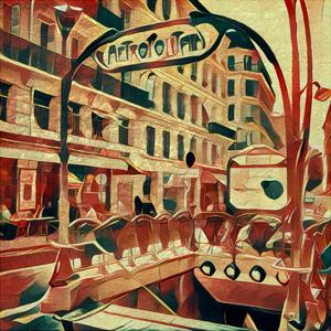 Distorted city scene 5 by Jean-François Dupuis