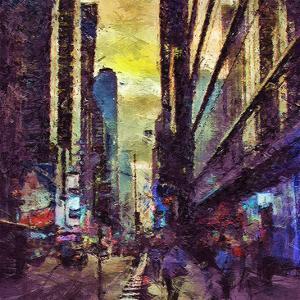 Painted City II by Jean-François Dupuis