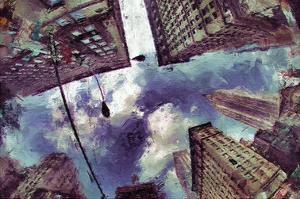 Painted City IX by Jean-François Dupuis