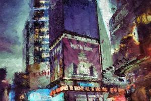 Painted City V by Jean-François Dupuis