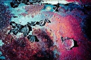 Purple Rust Up Close III by Jean-François Dupuis