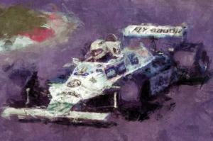Racing Car 7 by Jean-François Dupuis