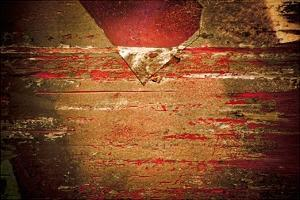 Rust Line Abstract III by Jean-François Dupuis