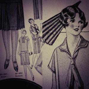 Vintage Girlwear 1925 by Jean-François Dupuis