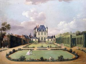 Views of the Chateau De Mousseaux and its Gardens by Jean-Francois Hue
