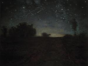 Starry Night, C.1850-65 by Jean-François Millet