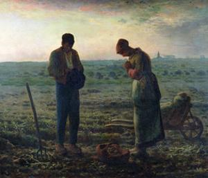 The Angelus, 1857-59 by Jean-François Millet
