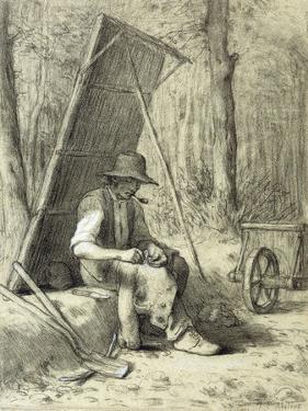 The Road Mender by Jean-François Millet