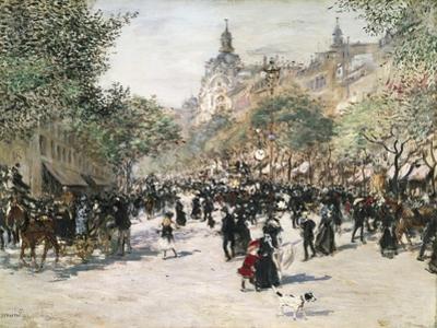 Boulevard Haussmann, Paris