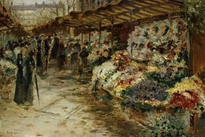Flower Market, 1882