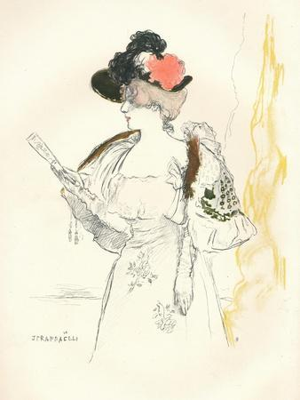 From a Sketch in Lead Pencil and Water-Colour, 1901