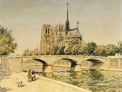 Notre Dame and the Seine